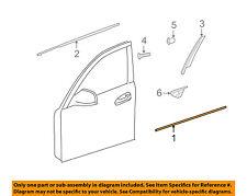 MERCEDES OEM 08-14 C300 FRONT DOOR-Body Side Molding Left 2047200180