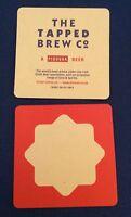 Tapped Brew Co Pivovar beer beermat beer mat/coaster new