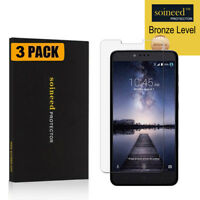 [3-Pack] SOINEED Tempered Glass Screen Protector for ZTE ZMax Pro Z981/ZTE Carry
