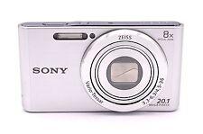 Sony Cyber-shot DSC-W830 20.1 MP Digital Camera - Silver