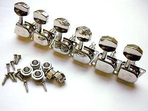 Schaller Original F-Series / 70s Tuners Mechaniken 6 links nickel