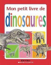 Mon petit livre de dinosaures