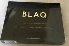 BLAQ Eye Masks Hyaluronic Acid 5 Pack Exp 8/2020 Sealed New Free Shipping