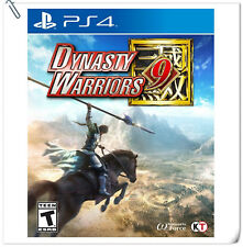 PS4 Dynasty Warriors 9 DW9 Sony PlayStation Koei Tecmo Action Games