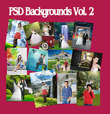 85 DIGITAL PHOTOGRAPHY  FANTASY  BACKGROUNDS BACKDROPS  GREEN SCREEN Vol 2