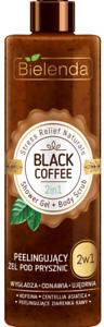 Bielenda 2in1 Black Coffee Shower Gel + Body Scrub Firming Smoothing 410g