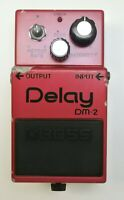 BOSS DM-2 Delay Guitar Effects Pedal MIJ Later Model MN3205 3102 #54