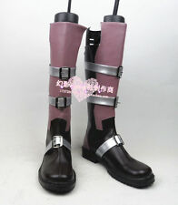 Final Fantasy XIII Lightning Eclair  Farron cosplay shoes boots Custom-Made 736