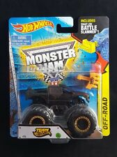 HOT WHEELS MONSTER JAM TRUCK 2015 BLACKOUT FIRESTONE RARE 1/64