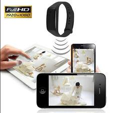 K18 Full HD 1080P Spy Smart Bracelet Wrist Watch Camera DV Video Recorder