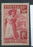 France N° 401** (MNH) 1938  Comité d'Assistance aux Français Rapatriés d'Espagne