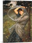 ARTCANVAS Boreas 1903 Canvas Art Print by John William Waterhouse