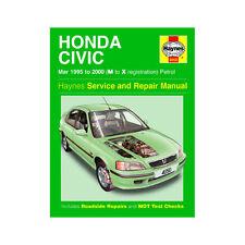 [4050] Honda Civic 1.4 1.5 1.6 1.8 Petrol 1995-00 (M to X Reg) Haynes Manual