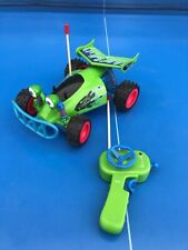 VOITURE TELEGUIDE TELECOMMANDE TOY STORY RC BUGGY CAR OF BUZZ L'ECLECLAIR RARE