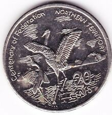 2001 20c Twenty Cent  Northern Territory Centenary of Federation Australian (NT)