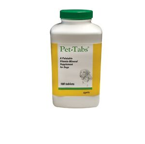 Pet Tabs original for Dogs - 180 Count - Chewable High nutritional supplement