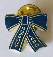 Support Officers Pin Badge Los Angeles Blue Ribbon Police Vintage (G12)