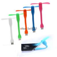 Flexible Mini USB Cooling Fan Cooler For Laptop Desktop Computer Portable