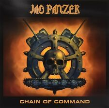 JAG PANZER - CHAIN OF COMMAND (TRANSPARENT ULTRA CLEAR VINYL)   VINYL LP NEW+