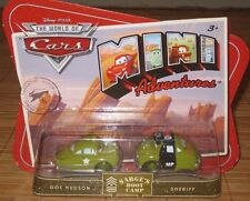Disney Pixar Cars Mini Adventures Sarges Boot Camp Doc Hudson & Sheriff NEW
