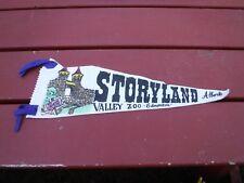 "Old Felt Pennant Storyland Valley Zoo Edmonton Alberta Canada 18 1/2"" L w/o Ties"