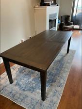 used wood table