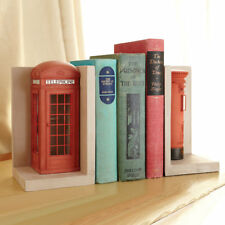 Red London Telephone and Post Box Set of 2 Bookends