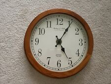 Sterling and Noble Wood Wall Clock