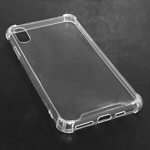 Pro Case Shockproof Silicone Bumper Cover Clear for iPhone X XS  XS MAX .