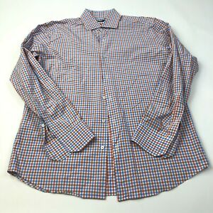 Hugo Boss Regular Fit 16.5 36 EUC Mens Button Front Long Sleeve Dress Shirt