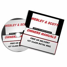 WEBLEY SCOTT AIRGUN RIFLE OWNERS MAN OWNERS USER  MANUALS BOOKS Disc  #Airrifle