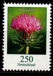 Bund 3199 R **, Rollenmarke mit Nr., 250 C. Freimarke Blumen