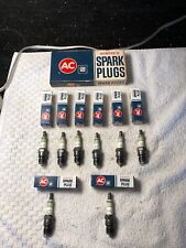 8 NOS Ac R42TS Green Ring Spark Plugs GM 5613324 Chevrolet Buick Dodge