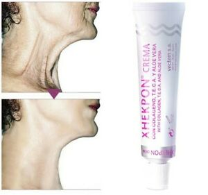 🇬🇧UK XHEKPON Cream Anti Ageing Wrinkle CREAM FACIAL NECK COLLAGEN 40ml