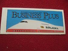 AIRLINE BAGGAGE STICKER  AIR LANKA 1980'S / 90'S VINTAGE