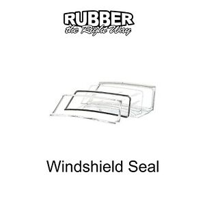 1952 1953 1954 Ford Windshield Seal - Mainline & Courier