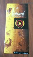 Vintage Straub's Brewing Brochure History and Catalog ~ St. Mary's PA - 1990's