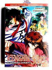 Kenshin El Guerrero Samurai Anime DVD Volumen 1 Precintado Nuevo Sealed New