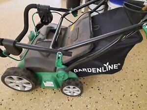 Elektro Vertikutierer Rasenlüfter 2in1 Kombi Gerät, Rasenpflege, 32 cm Fangsack