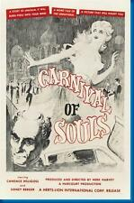 Carnival Of Souls Movie Poster 24x36