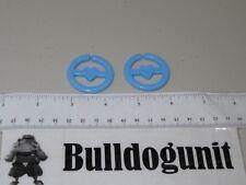 1979 Super Mr. Potato Head 2 Blue Earrings Mrs Replacement Part Hasbro Vintage T