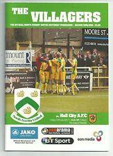 Teams F-K Hull City Football Pre-Season Fixture Programmes