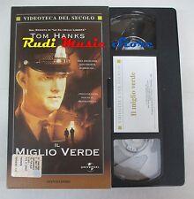film VHS IL MIGLIO VERDE Tom Hanks Videoteca del Secolo 1999  (F65 * ) no dvd