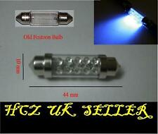 2x 10 LED VAUXHALL ASTRA INTERIOR FESTOON BULB 44MM BLUE UK