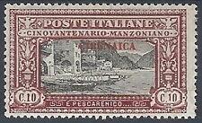 1924 CIRENAICA MANZONI 10 CENT MH * - RR11998