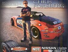 2008 Chris Forsberg Maxxis Nissan 350Z Formula Drift postcard