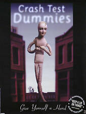 Crash Test Dummies 1999 Give Yourself A Hand Promo Poster Original
