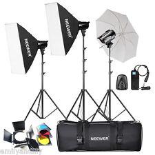 Neewer 540W(180W x 3)Professional Photography Studio Flash Strobe Lighting Kit