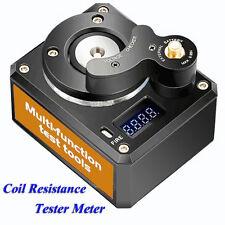 Coil Resistance Tester Meter For Vape For RBA RDA Rebuilding CoilDesk Ohm Tester