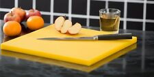 Zanussi Professional Large High Density Yellow Chopping Board Cutting Board
